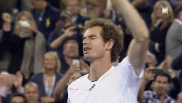 US-Open-Final: Der Triumph von Andy Murray