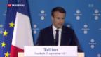 Video «EU-Gipfel zur Digitalagenda» abspielen
