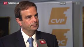 Video «Nachfolge von Christophe Darbellay» abspielen
