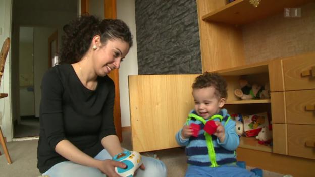 Video «Eine Zuflucht für Familie Kourie-Ablahad» abspielen