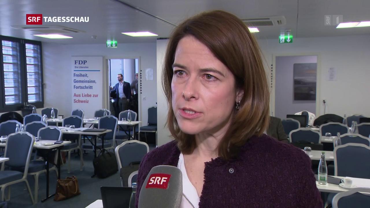 EU-Dossier: CVP und FDP nehmen den Ball auf
