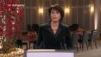 Video «Neujahrsansprache der Bundespräsidentin» abspielen