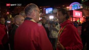 Video «Fabian Cancellara zum zweiten Mal Olympiasieger» abspielen