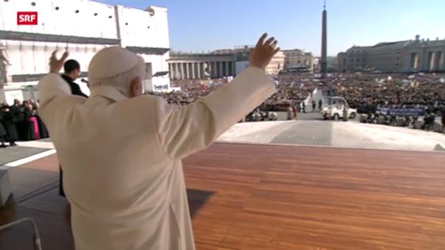 200000 Menschen verabschieden Papst