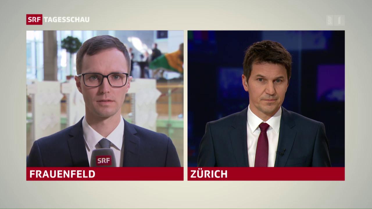 Wahlen Kantonsparlament Thurgau