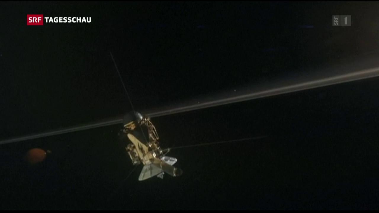 Das Ende der Raumsonde «Cassini»
