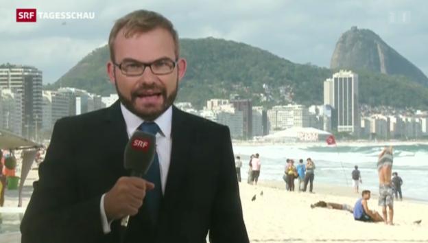 Video «SRF-Korrespondent Erwin Schmid in Rio de Janeiro» abspielen