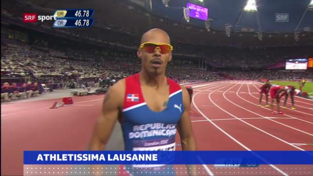 Athletissima: Stars haben Kommen angekündigt