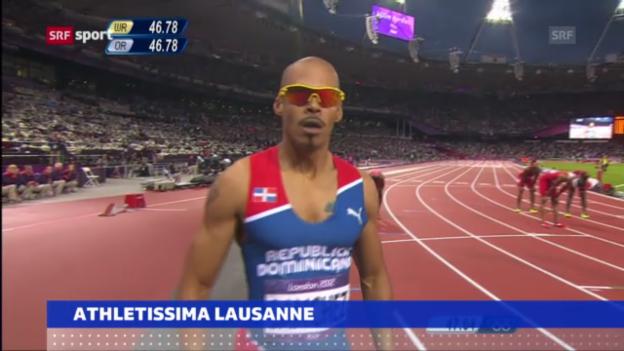 Video «Athletissima: Stars haben Kommen angekündigt» abspielen