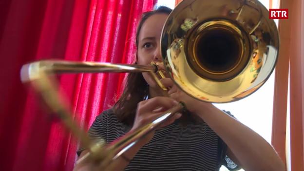 Laschar ir video «Champ da giuvens musicants a Schlanders»