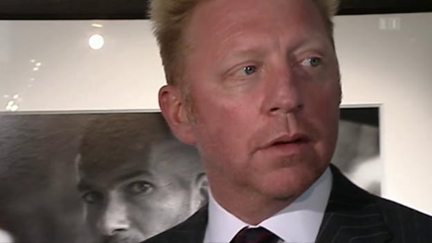 Video «Boris Becker: Verfahren in England» abspielen