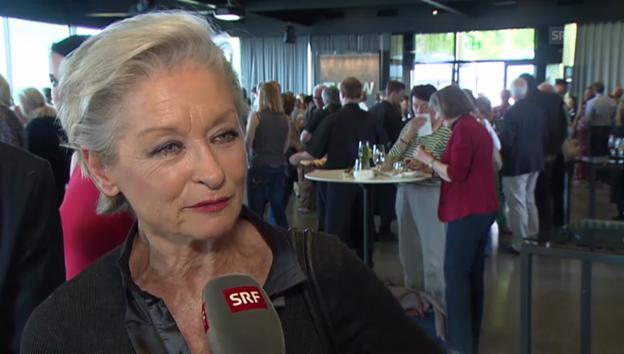 Video «Heidi Maria Glössner über ihre Hollywood Co-Stars» abspielen