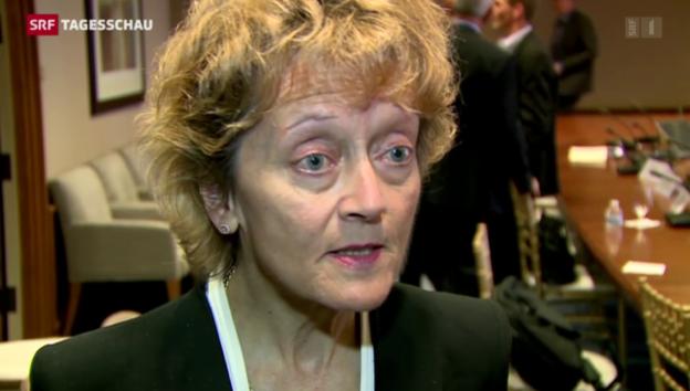 Video «Widmer-Schlumpf an der IWF-Tagung» abspielen