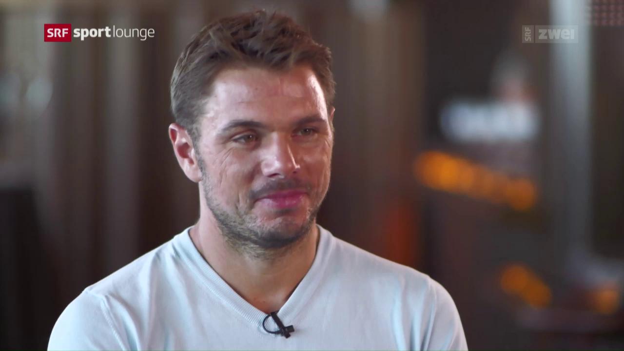 US Open-Sieger Stan Wawrinka im Gespräch
