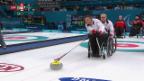 Video «Schwieriges Startspiel für Curler» abspielen