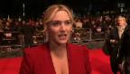 Video «Kate Winslet hochschwanger zur Filmpremiere» abspielen