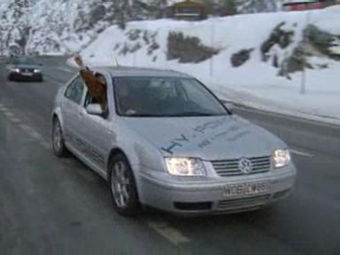 Brennstoffzellenauto PSI 2002
