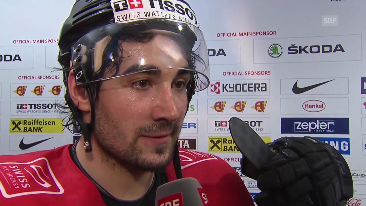 Eishockey: Interview mit Andres Ambühl