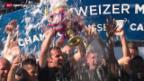 Video «Fussball: Pokalübergabe und Stimmen aus Basel» abspielen