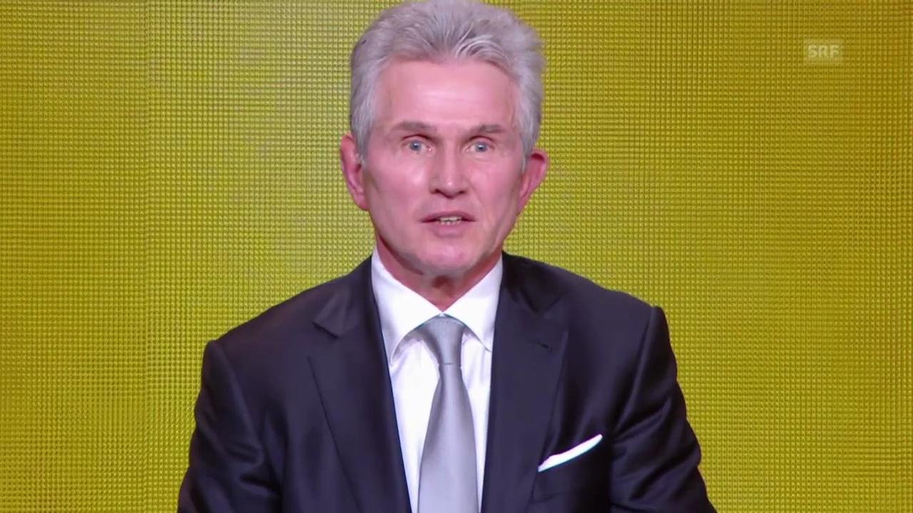 FIFA-Gala: Jupp Heynckes ist Trainer des Jahres 2013