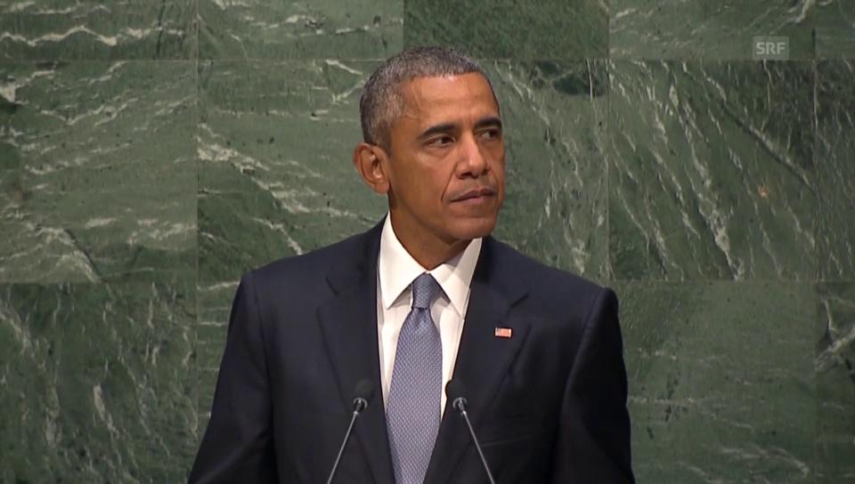 Obama: «Wir können nicht zurückschauen»