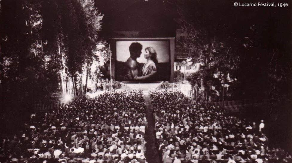Muments istorics dal Festival da film a Locarno