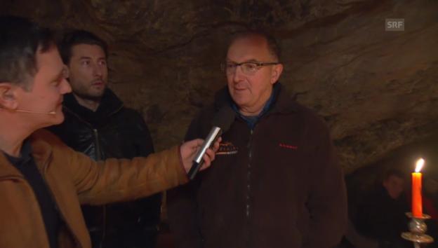 Video «Wer Tram fährt, kann auch in eine Höhle steigen» abspielen