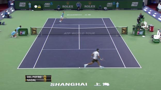 Video «Del Potro - Nadal: Die Highlights» abspielen