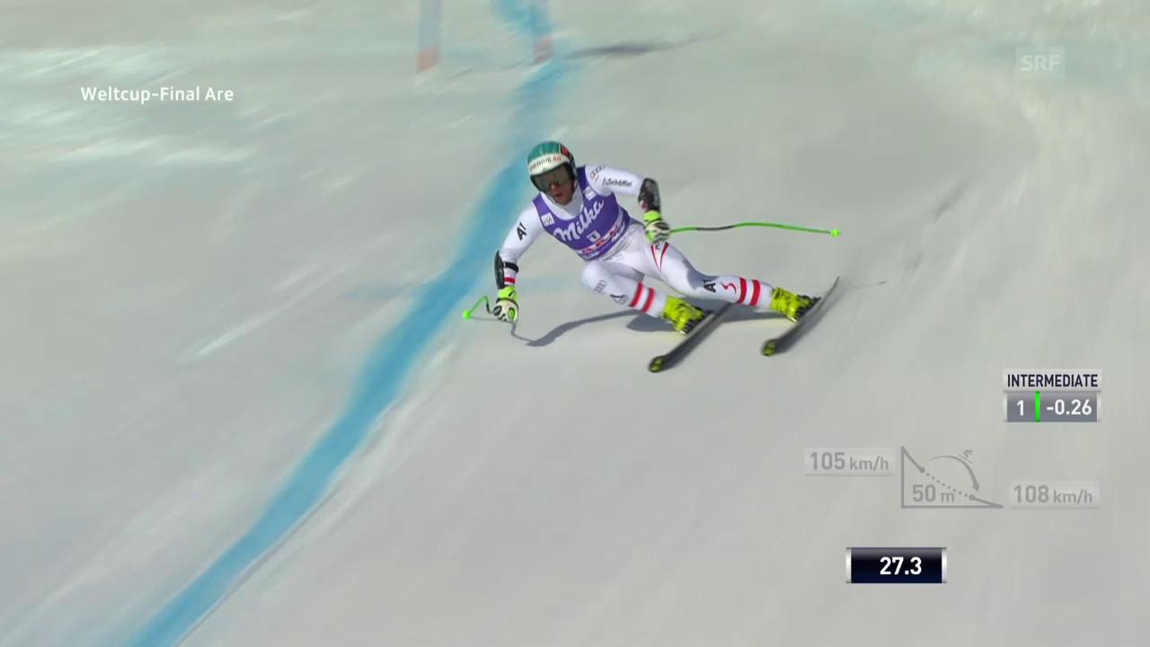 Vincent Kriechmayr «sprintet» zum Sieg