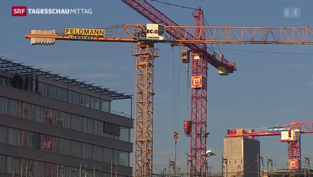 Video «Zuversicht bei Schweizer Unternehmen» abspielen