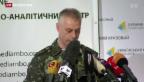 Video «Ukraine-Konflikt: Schwere Vorwürfe gegen Separatisten» abspielen