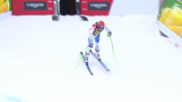 Video «Ski: Abfahrt Männer Val Gardena, 2. Training, Patrick Küng» abspielen
