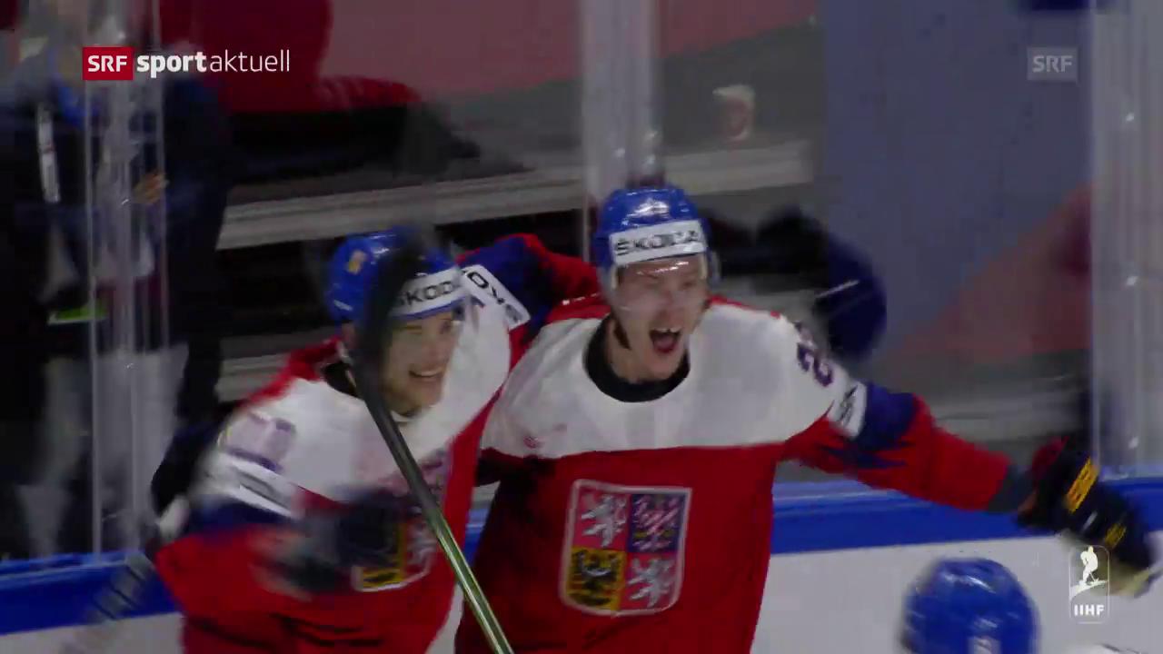 Die Tore bei Tschechien-Slowakei