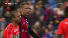 Link öffnet eine Lightbox. Video Basel dreht verrückte Partie gegen Lausanne abspielen