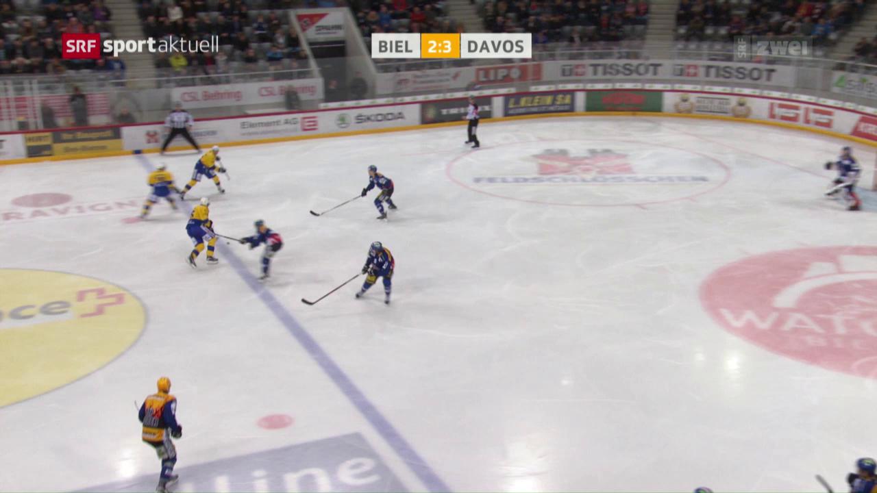 Davos mit wichtigem Sieg in Biel