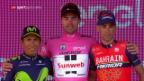 Video «Dumoulin krönt sich zum Giro-Sieger» abspielen