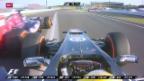 Video «Formel 1: Viel Freude beim Sauber-Team beim GP von Japan» abspielen