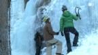 Video ««Einstein» beim Eisklettern» abspielen
