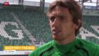 Video «Fussball: St. Gallens Tréand - einst Unglücksbringer für Grün-Weiss» abspielen