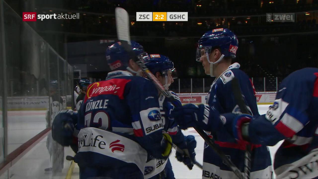 ZSC Lions schlagen Genf in der Overtime
