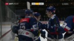 Video «ZSC Lions schlagen Genf in der Overtime» abspielen
