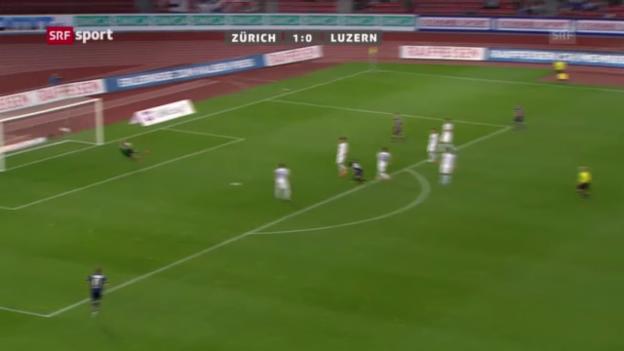 Video «Rang 9: Luzerns Sarr gegen Zürich (5 %)» abspielen