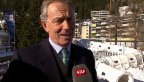 Video «Hochkarätig: Stars aus Politik, Wirtschaft und Hollywood in Davos» abspielen