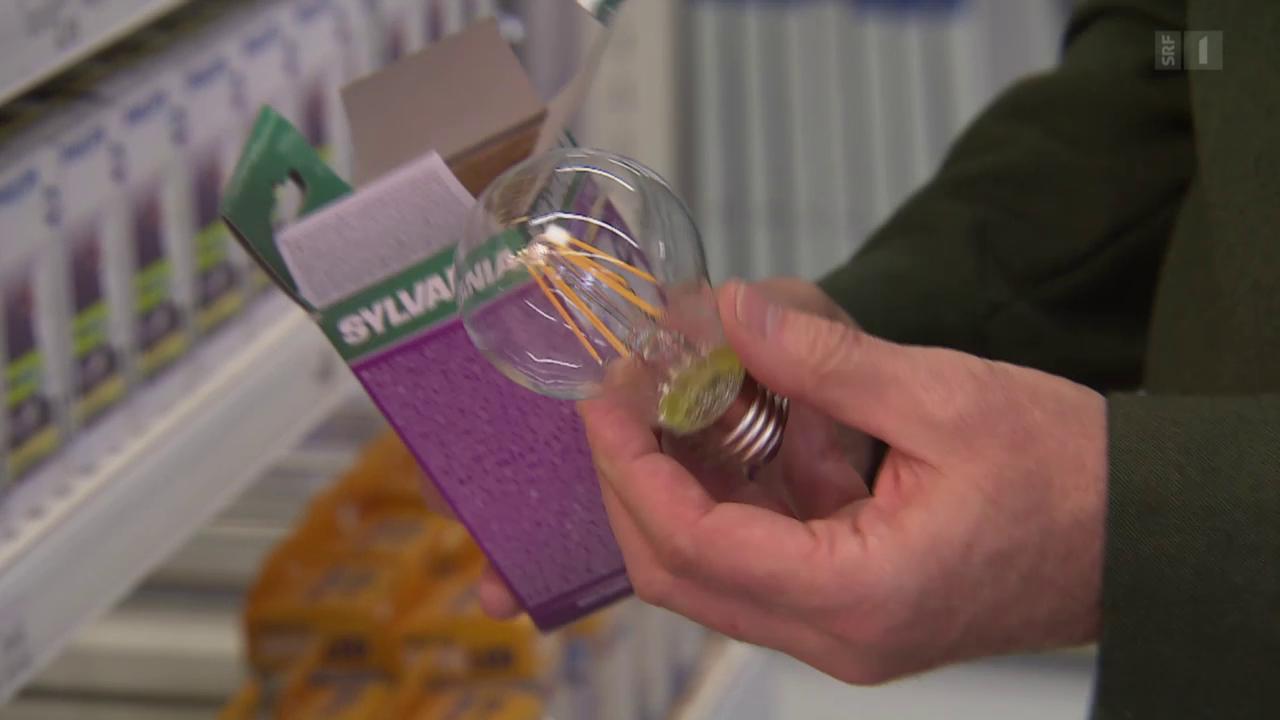 LED-Lampen im Test: Neue Generation verbraucht noch weniger
