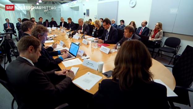 Video «IWF-Jahrestagung zu Ende (Tagesschau Mittag, 13.10.2013)» abspielen