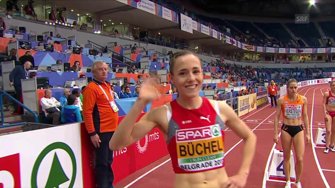 Selina Büchel gewinnt 800-m-Vorlauf