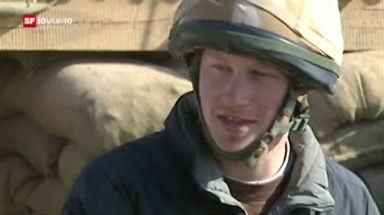Prinz Harry in Afghanistan