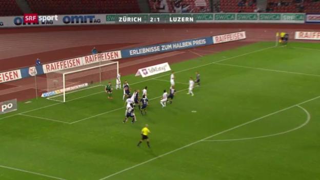 Video «Spielbericht Zürich - Luzern» abspielen