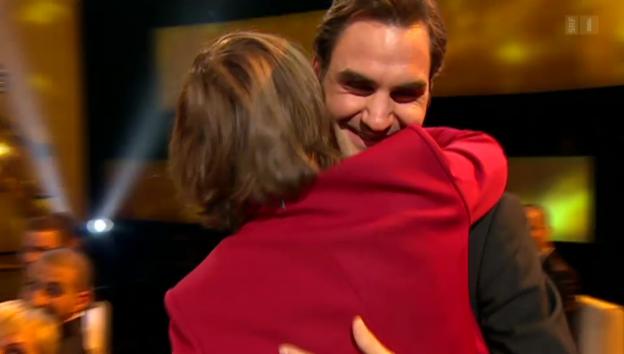 Video «Alles Roger bei den «Credit Suisse Sports Awards»» abspielen