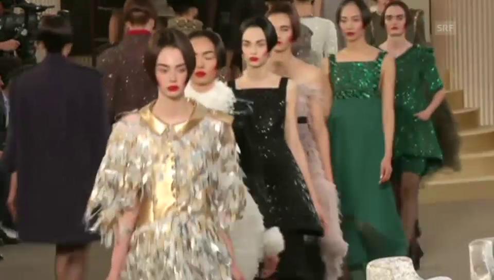 Haute Couture – Kleider in 3D-Optik